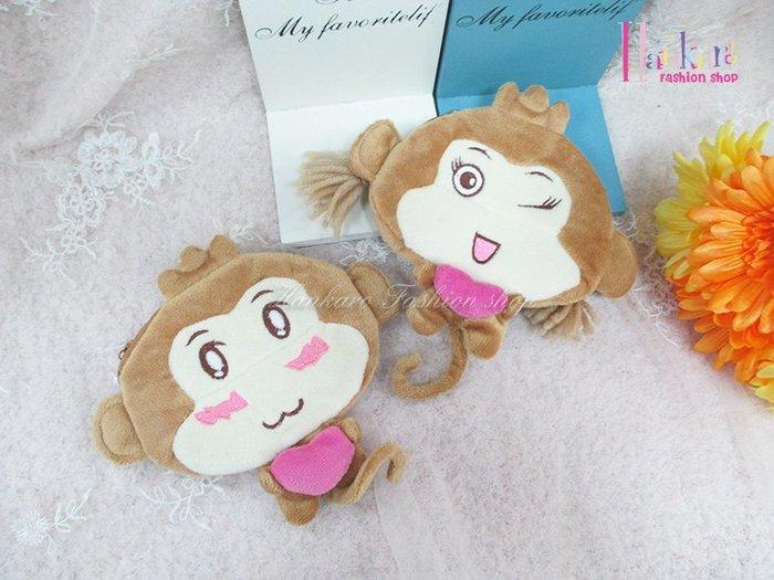 ☆[Hankaro]☆日韓流行猴子造型零錢包(樣品出清)