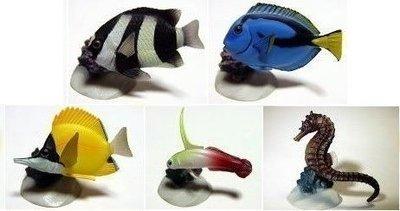 Yujin 原色海水魚圖鑑 I Part 1 (全5隻連單色石) 2004年