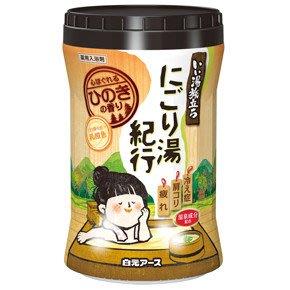 日本 白元 HERS 溫泉入浴劑 入浴劑 泡澡粉 泡湯粉 乳濁湯型 600G