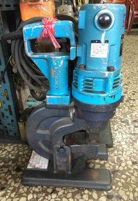 日本Ogura 攜帶型電動油壓沖孔機 HPC-22(9mm厚、22mm孔徑) 110V 油壓工具 H型鋼/水電工程/