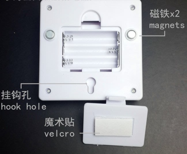 【保固最久 品質最佳】LED 開關燈 小夜燈 工作燈 帶磁鐵 魔術貼 壁櫥燈 衣櫃燈 野營 帳篷燈 緊急照明燈 工作燈