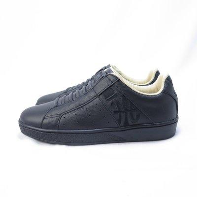 Royal 無鞋帶 休閒鞋 皮革 公司貨 91901998 女款 全黑【iSport愛運動】