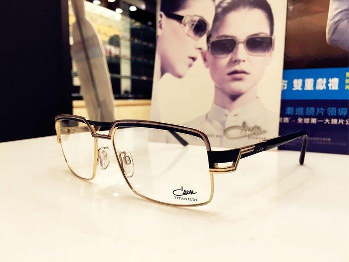 精光堂眼鏡 CAZAL 德國手工框 雙槓雙色鈦金屬材質設計 精密的工藝搭配無二的創作 簡單 自信 爸爸節最精緻的禮物