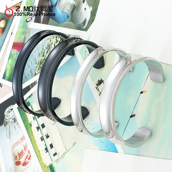 316L抗過敏不生鏽 西德鋼情侶對鍊手鏈 手環系列 單只價【CHY060】Z.MO鈦鋼屋