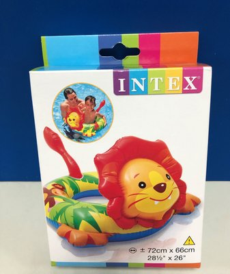 INTEX 動物泳圈 (獅子) #58221NP 新北市
