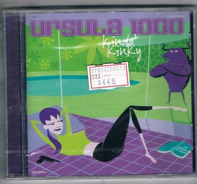 [鑫隆音樂]西洋CD-URSULA 1000 KINDA KINKY {30054} 原裝進口版/ 全新