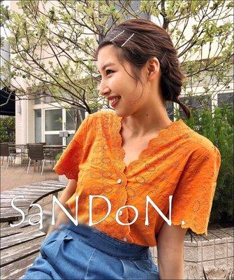 SaNDoN x『MOUSSY』本周口袋名單 波浪紋理雕花精緻刺繡設計感柔美襯衫上衣180716