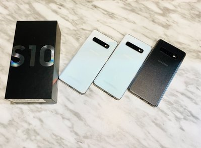 🔥二手機 台灣版Samsung S10(6.1吋 8G 128GB 指紋辨識 臉部解鎖 )