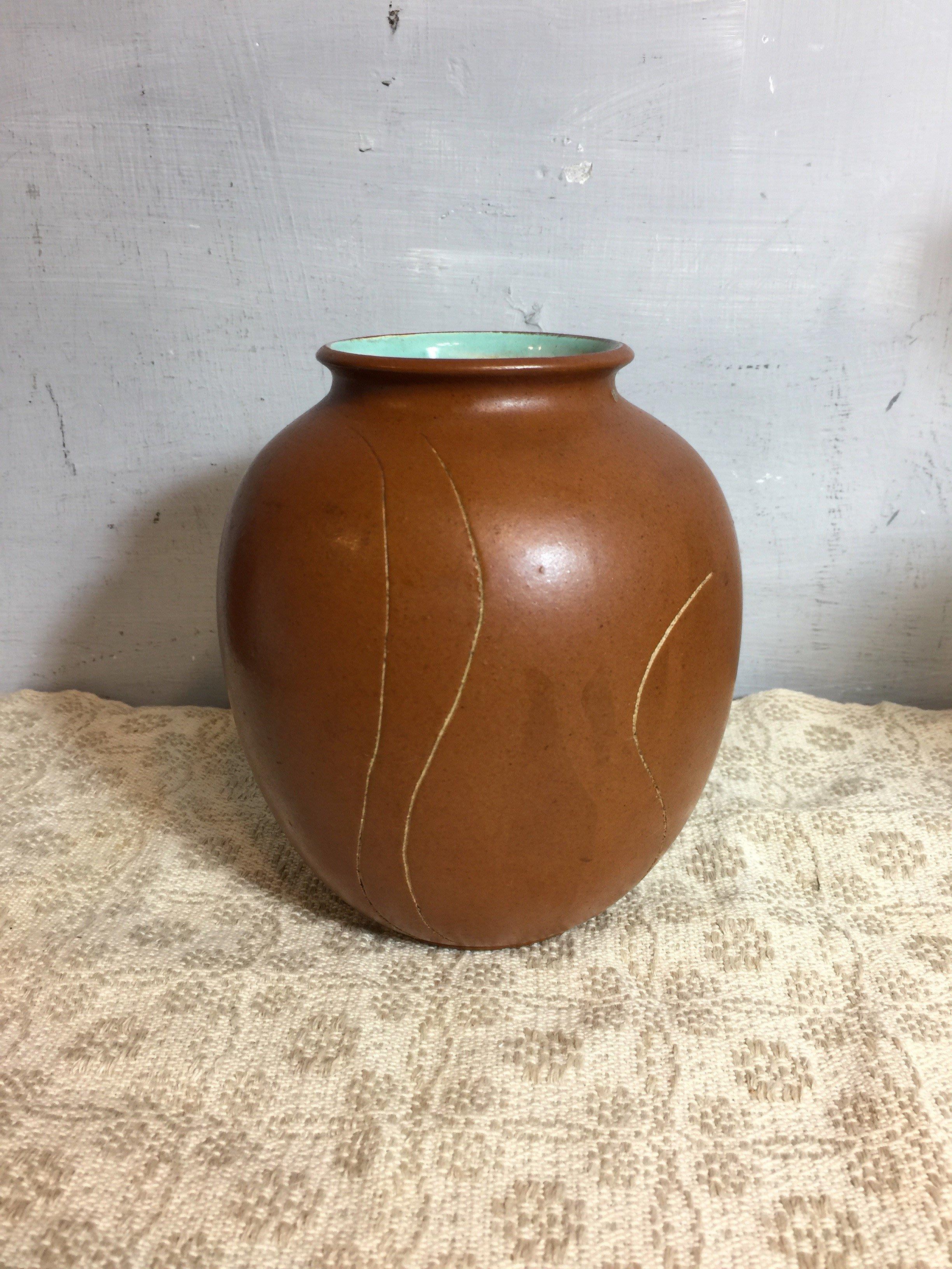 白明月藝術/古物雜貨店   老陶器花瓶