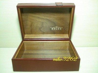 :: NiKo HoUsE ::【ROLEX 勞力士】原廠錶盒 / 咖啡色