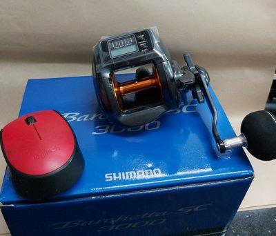 【欣の店】SHIMANO 新型太陽能電池計米捲線器 BARCHETTA SC 3000型 鼓式捲線器 大特價