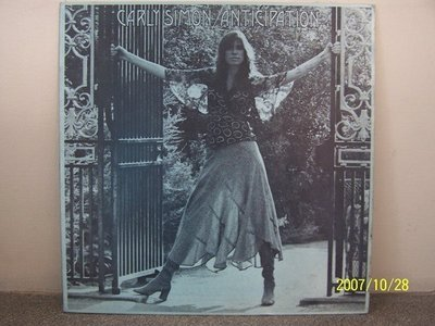 【原版流行LP】167.Carly Simon:Anticipation,Come upstairs專輯(曲目詳照片),2LPs