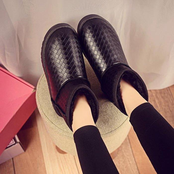 冬季新款雪地靴女短靴加絨加厚保暖防水韓版百搭學生短筒棉鞋