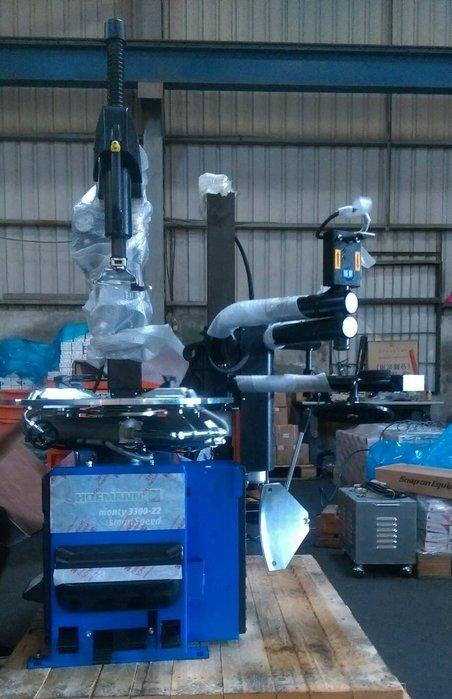 【鎮達】汽車維修設備  好夫曼 Hofmann 3300-22 smartSpeed 汽車拆胎機+輔助手臂