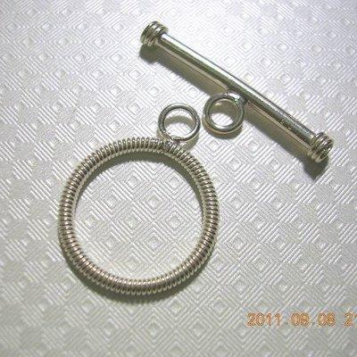 琥珀貓~【925純銀材料配件】OT扣~N7251~14mm螺旋O圈~一組