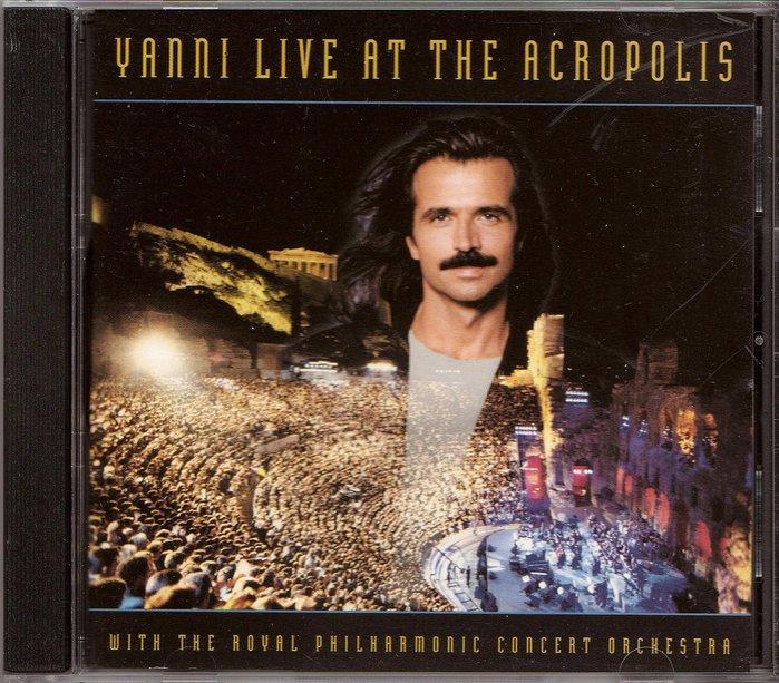 【塵封音樂盒】雅尼 Yanni - 雅典衛城現場演奏專輯