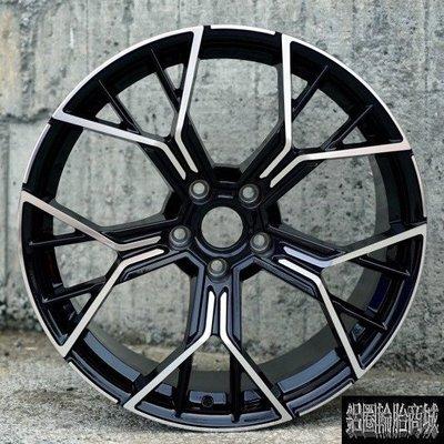 全新鋁圈 wheel EP5084X 19吋鋁圈 旋壓 5孔114.3 5孔120 5孔112 亮黑車面 CK