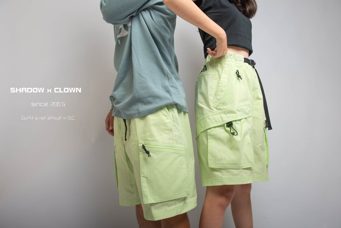 ►Shadow X Clown◄Nike ACG Cargo Shorts 工裝短褲 BQ7285-388