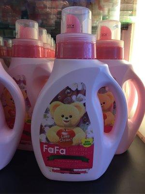 香水倉庫~FaFa 洗衣精(蘋果花香)1000ml(單瓶特價150元~9瓶免運)高雄可自取