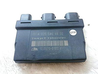 賓士 正廠 BAS 控制 電腦 模組 電子 煞車 BENZ W210 W140 R129 德祥行