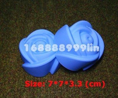 ☆陽光寶貝窩☆ 玫瑰花 矽膠模 食品級 馬芬杯模 蛋糕模 手工肥皂模 果凍模