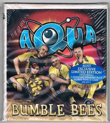[鑫隆音樂]西洋單曲-AQUA / BUMBLE BEES {601215823929} 全新/免競標