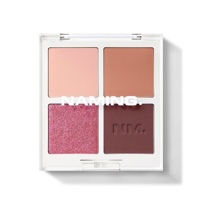 Doota.S 代購 NAMING Color-quartet Eye Palette-Touch 眼影盤