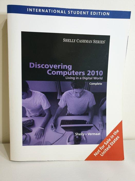 Discovering Computers 2010 計算機概論 資訊管理 大學 英文原文書