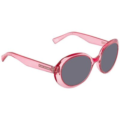 Marc Jacobs Fuchsia Oval Ladies  MARC197S 0MU1 IR 53 MARC197S 0MU1 IR男太陽眼鏡