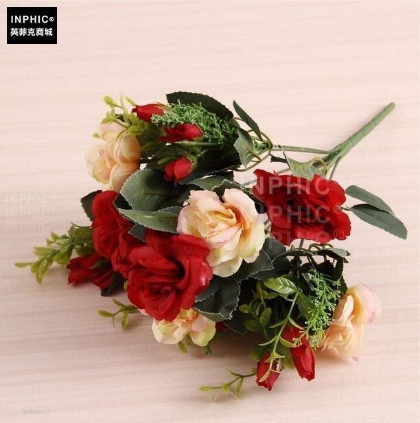 INPHIC-歐式模擬花藝套裝客廳裝飾假花家居飾品花瓶插花擺放花卉絹花-B款_S01870C