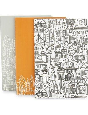 [要預購] 英國代購 英國Sketch 倫敦樣式筆記本 A6 一組有三本