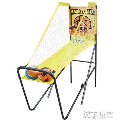 『格倫雅』籃球架 3-6歲兒童玩具 室內電子投籃機 兒童籃球架 幼稚園投籃遊戲^19955