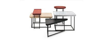 【品傢俱】近原裝 Cassina 381 Tore│造型茶几 矮桌 和室桌│另有B&B,Poliform,Minotti