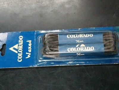 (全新未使用)Colorado waxed 有上蠟的黑色繩子長75公分