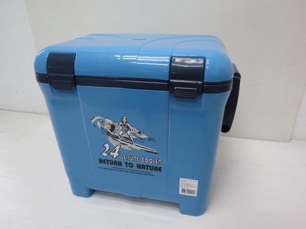 ╭*雲蓁小屋*╯【2450】24L冷凍箱行動冰箱.保冰桶.保冰袋.衝浪.釣魚露營休閒台灣製