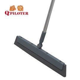 TV熱賣-派樂彈力無塵掃把 刮水掃把 無水痕 撥水彈力掃把 浴室用 客廳用 房間用 特賣超值組(1入)