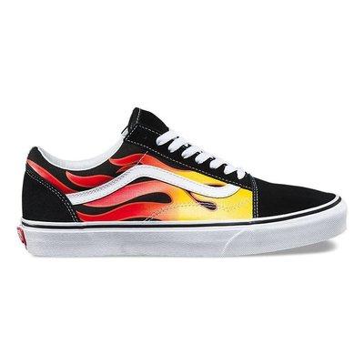 """Vans Old Skool """"Flames"""" 火焰鞋休閒運動慢跑板鞋男女"""