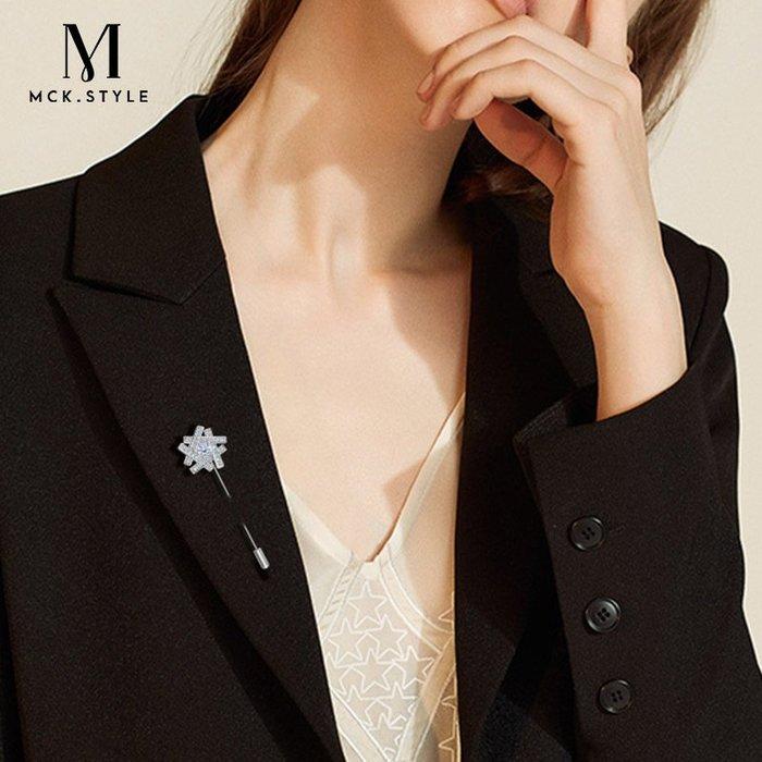 Lissom韓國代購~一字胸針女歐美插針式歐式簡約韓國大氣百搭外套別針開衫防走光扣