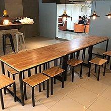 【鐵木創】實木桌  橡膠木 餐桌  餐桌椅組   飯桌 辦公桌 電腦桌 書桌 休閒桌 辦公桌 會議桌 p2