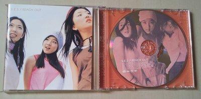 韓國女團 S.E.S REACH OUT CD專輯 ~199元起標~~