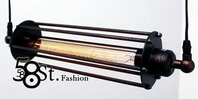 【58街燈飾-台北館】米蘭展設計「Contrary 正負極吊燈_單燈款」時尚設計師的燈。複刻版。GH-371