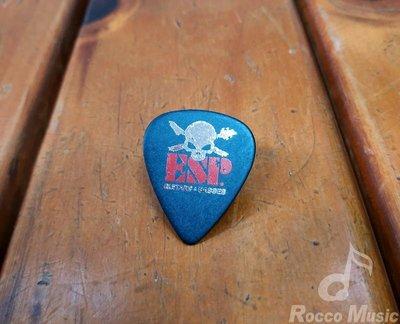 【羅可音樂工作室】ESP SELECTED PICK 彈片 黑色骷顱 1.0mm