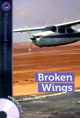 【優惠/英語/讀本/小說】Richmond Robin Readers 6:Broken Wings (with CD)