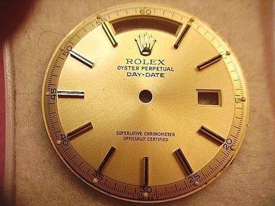 Rolex 勞力士 1803 專用面盤 Part- 2