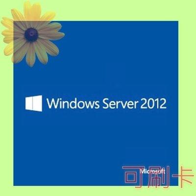 5Cgo【權宇】R18-03680 微軟 Server CAL 2012 1pk 5 Clt Device 中文隨機版