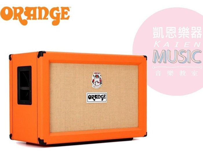 『凱恩音樂教室』免運優惠 ORANGE PPC212 2X12 電吉他 CAB 單體 喇叭 音箱 英規 封閉式