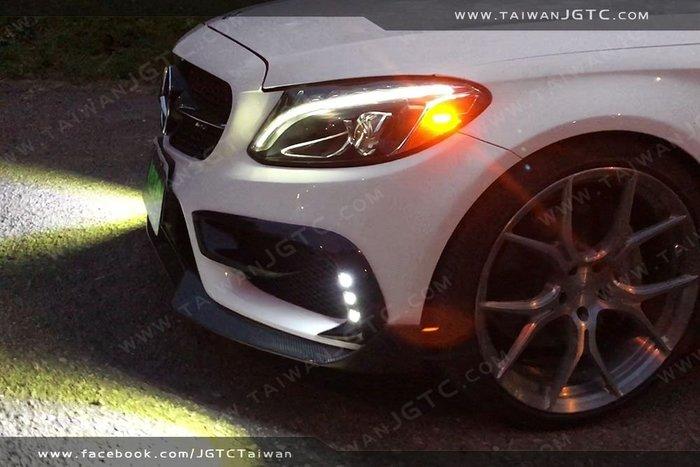 (台灣JGTC) TAIWANJGTC W205 S205 C205 AMG 霧燈 高亮度 純台製 魚眼燈