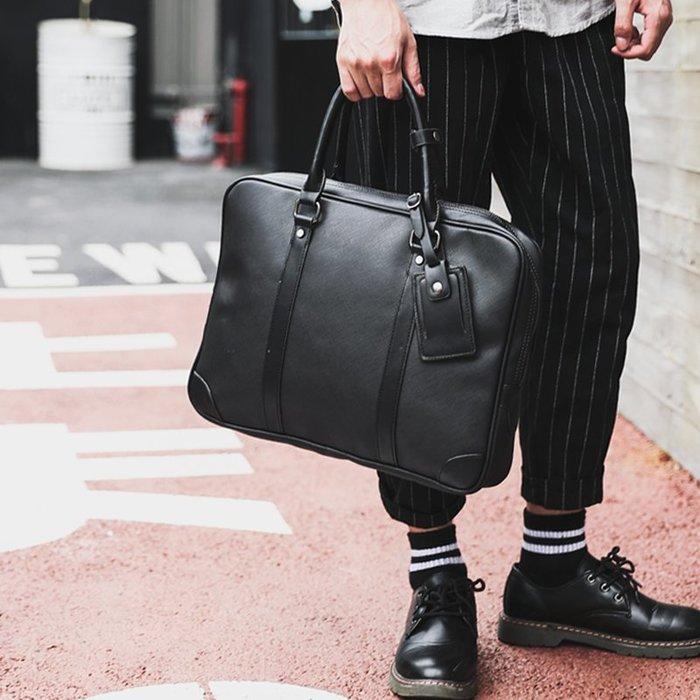 爆款熱賣-潮流時尚休閑公文包電腦包 商務男包 文件包 時尚皮質男士手提包