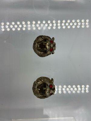 無殻裸牌僅剩一件虎抱球龍婆自身件未知年代精美精緻泰國佛牌招財佛牌聖物護身符