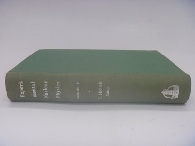 【月界】Experimental Nuclear Physics-vol.1_Segre_核子物理學〖大學理工醫〗BAE